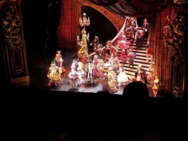 Majestic Theatre, vak: RMezz, rij: A, stoel: 2