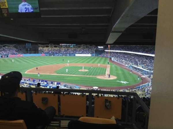 Dodger Stadium, vak: 119LG