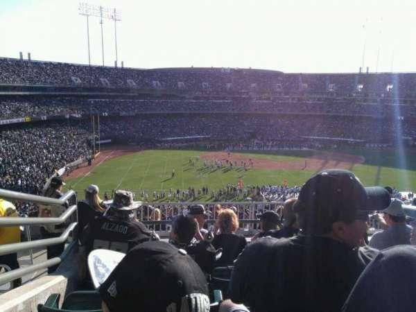 Oakland Alameda Coliseum, vak: 245, rij: 13, stoel: 15