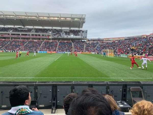 SeatGeek Stadium, vak: 103, rij: 3, stoel: 2