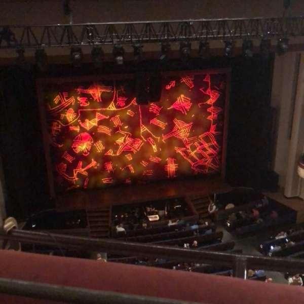 Belk Theater, vak: Balcony left, rij: A, stoel: 212