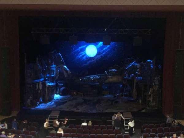Belk Theater, vak: Mezzanine, rij: A, stoel: 128