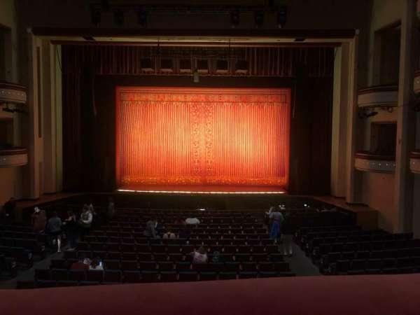 Belk Theater, vak: Grand Tier, rij: A, stoel: 129