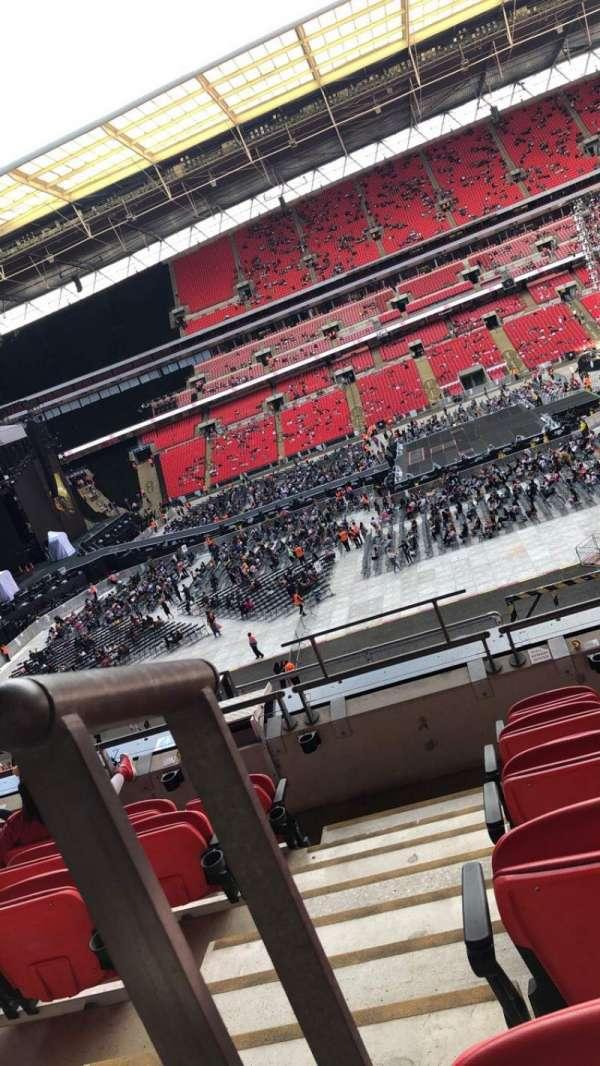Wembley Stadium, vak: 227, rij: 6, stoel: 12