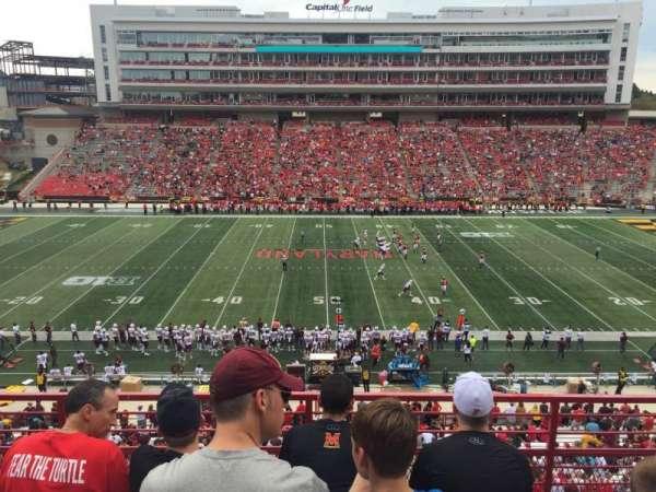Maryland Stadium, vak: 206, rij: 4, stoel: 15
