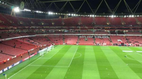 Emirates Stadium, vak: 114, rij: 1, stoel: 662