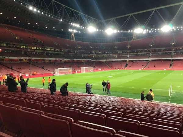 Emirates Stadium, vak: 1, rij: 19, stoel: 29