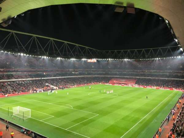 Emirates Stadium, vak: 119, rij: 2, stoel: 793