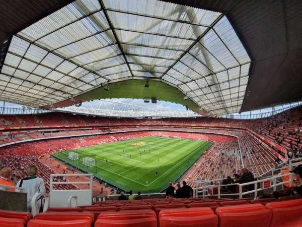 Emirates Stadium, vak: 119, rij: 12, stoel: 782