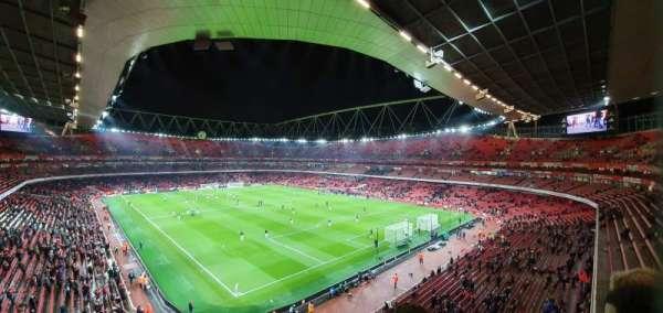 Emirates Stadium, vak: 106, rij: 2, stoel: 417