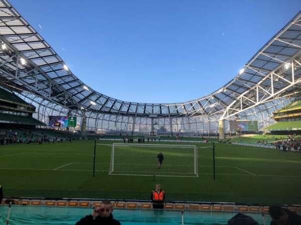 Aviva Stadium, vak: 115, rij: N, stoel: 24