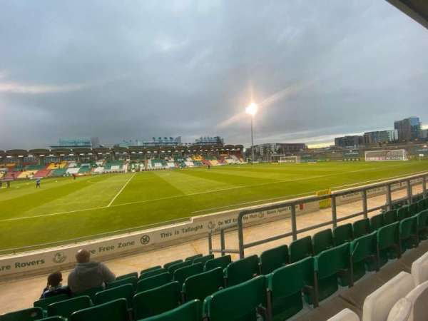 Tallaght Stadium, vak: N, rij: T, stoel: 90