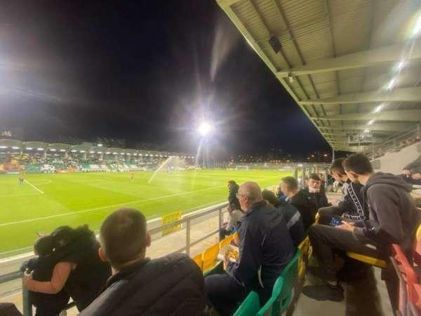 Tallaght Stadium, vak: P, rij: T, stoel: 170