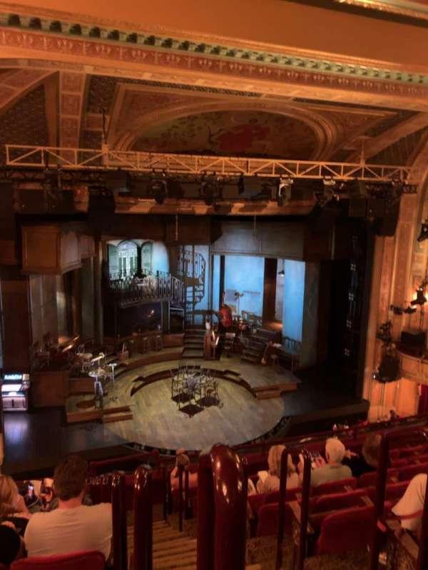 Walter Kerr Theatre, vak: MEZZ, rij: H, stoel: 1