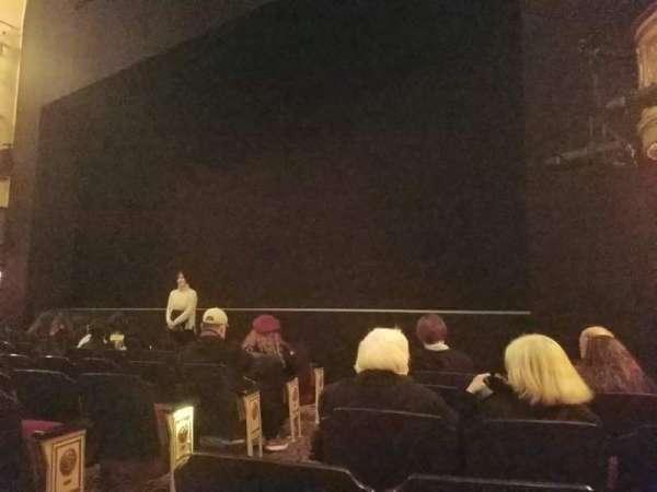 Bernard B. Jacobs Theatre, vak: Orchestra L, rij: G, stoel: 6