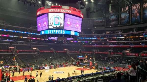 Staples Center, vak: PR16, rij: 2, stoel: 6