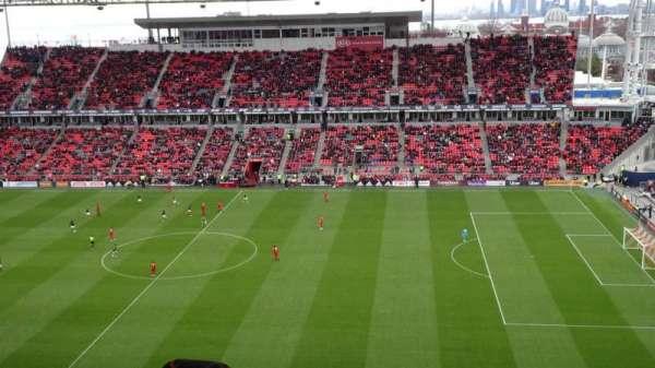 BMO Field, vak: 206, rij: 21, stoel: 31