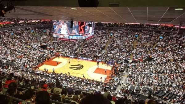 Scotiabank Arena, vak: 307, rij: 17, stoel: 15