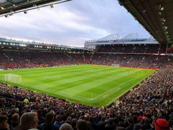 Old Trafford, vak: E239, rij: 22, stoel: 6