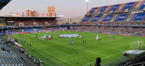 Stade de la Mosson, vak: I, rij: 10, stoel: 182