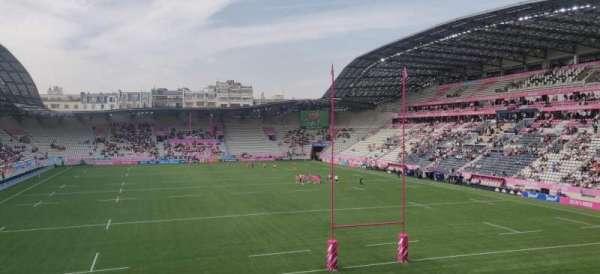 Stade Jean-Bouin (Paris), vak: 29, rij: R, stoel: 5