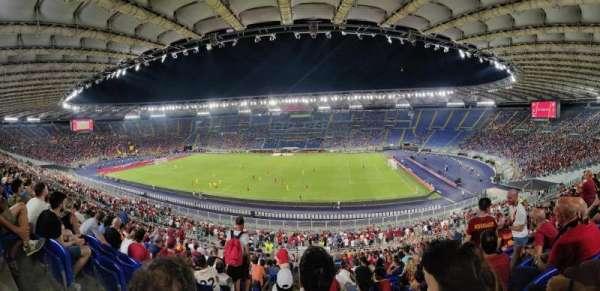 Stadio Olimpico, vak: 46AS, rij: 44, stoel: 2S