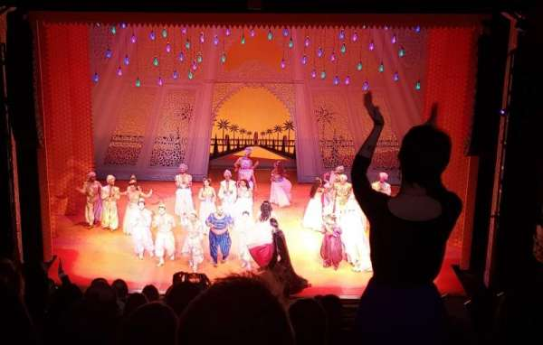 Hippodrome Theatre, vak: Center Middle Balcony, rij: L, stoel: 310