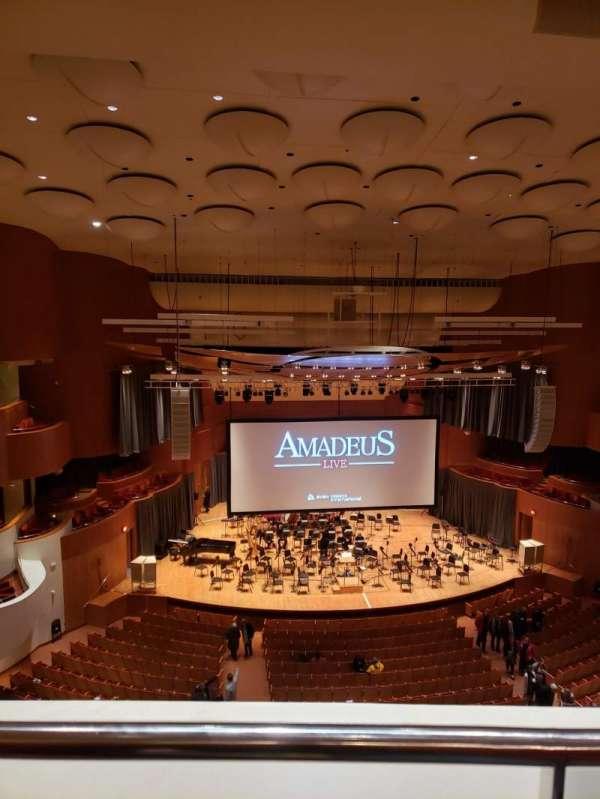 Joseph Meyerhoff Symphony Hall, vak: Terrace Center Left, rij: A, stoel: 121