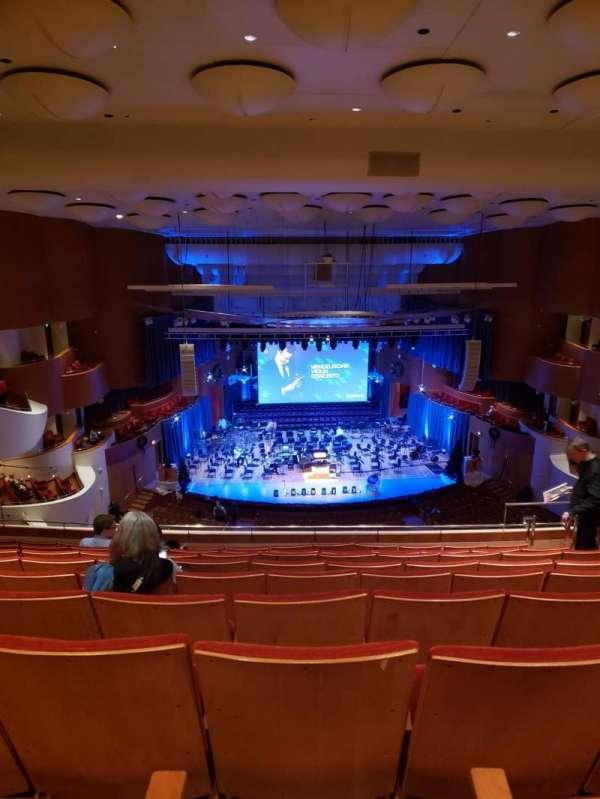 Joseph Meyerhoff Symphony Hall, vak: Terrace Center Left, rij: J, stoel: 109