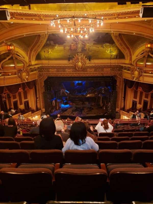 Hippodrome Theatre, vak: Center Upper Balcony, rij: S, stoel: 310 - 311