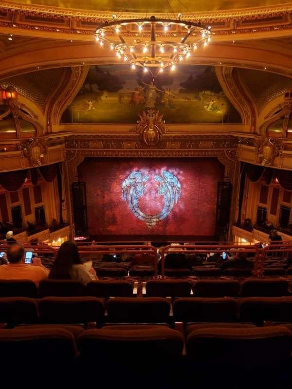 Hippodrome Theatre, vak: Center Upper Balcony, rij: Q, stoel: 309-310