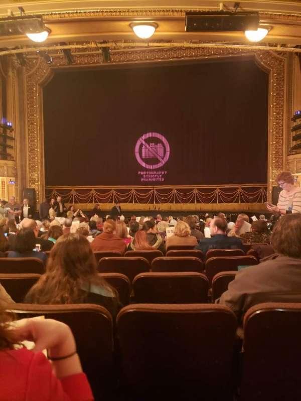 Hippodrome Theatre, vak: Center Orchestra, rij: T, stoel: 115
