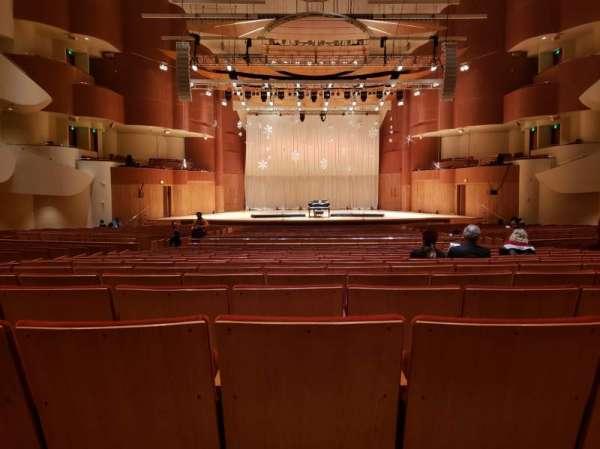Joseph Meyerhoff Symphony Hall, vak: Center Orchestra, rij: HH, stoel: 108