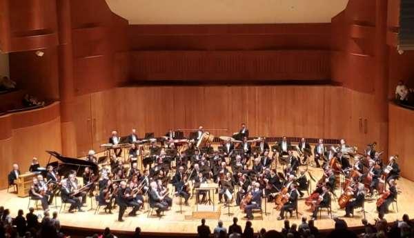 Joseph Meyerhoff Symphony Hall, vak: Grand Tier Center Right, rij: J, stoel: 108