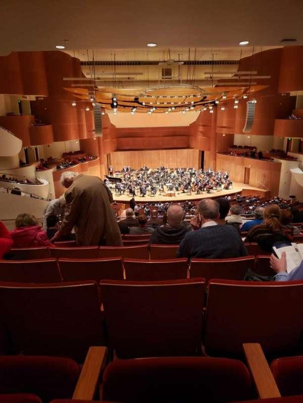 Joseph Meyerhoff Symphony Hall, vak: Grand Tier Center Left, rij: J, stoel: 119