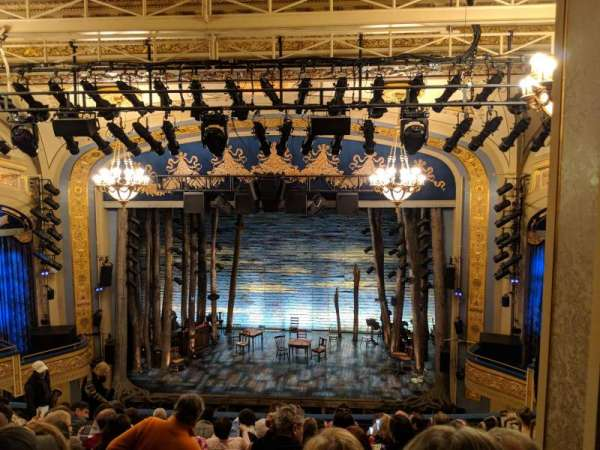 Gerald Schoenfeld Theatre, vak: Mezzanine C, rij: K, stoel: 110