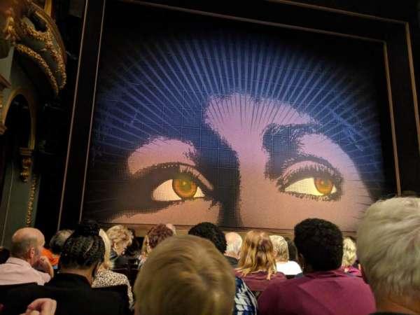 Aldwych Theatre, vak: Stalls, rij: G, stoel: 20