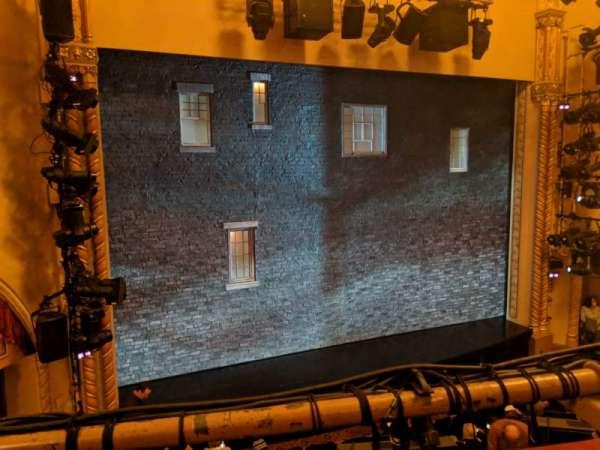 John Golden Theatre, vak: Front Mezzanine L, rij: A, stoel: 119