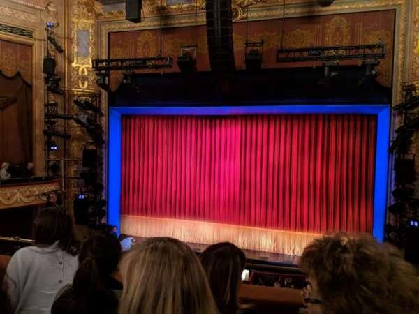 Longacre Theatre, vak: Mezzanine C, rij: C, stoel: 101