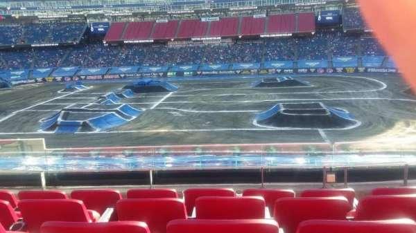 Gillette Stadium , vak: CL8, rij: 5, stoel: 12