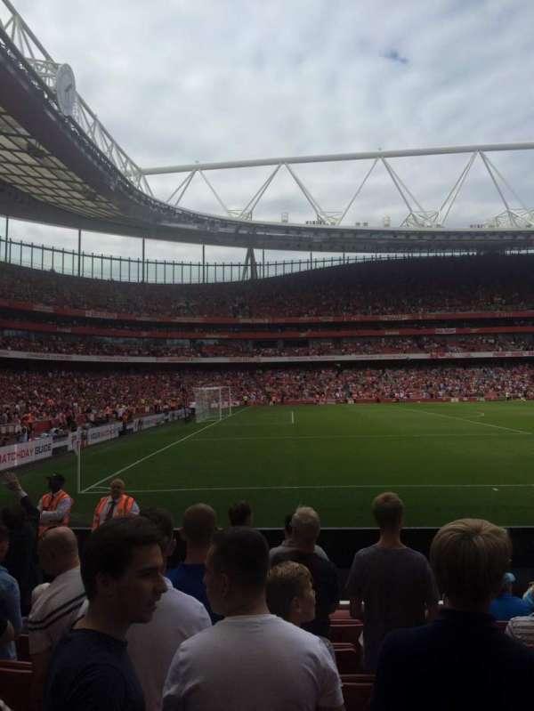 Emirates Stadium, vak: 20, rij: 8, stoel: 602