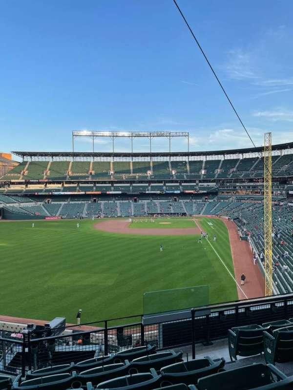 Oriole park at Camden yards, vak: 280, rij: 6, stoel: 2