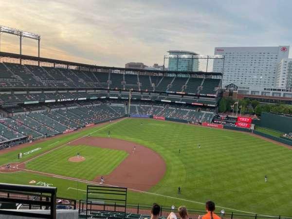 Oriole Park at Camden Yards, vak: 316, rij: 14, stoel: 18