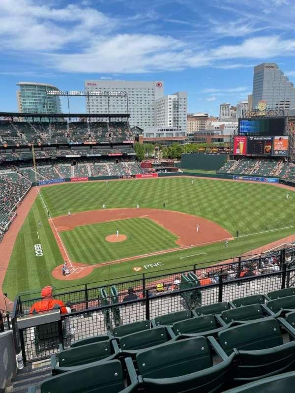 Oriole Park at Camden Yards, vak: 328, rij: 13, stoel: 12