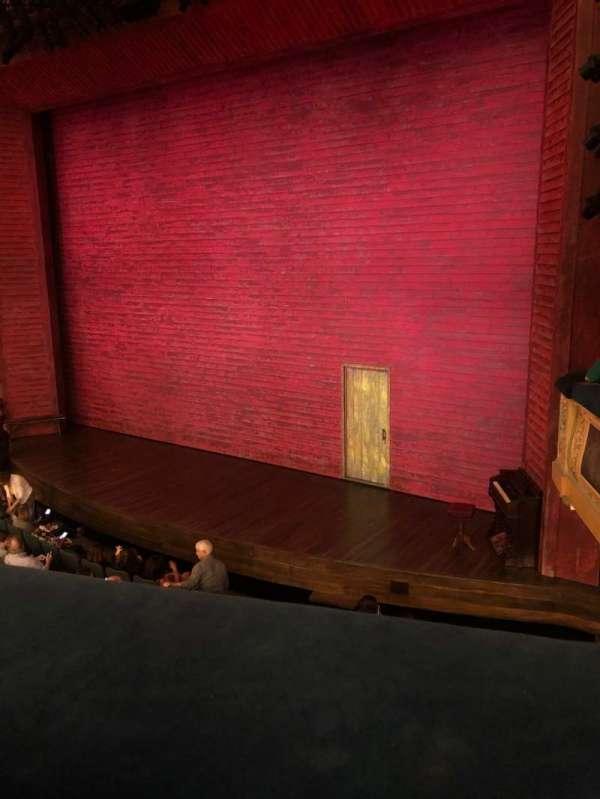 Shubert Theatre, vak: Mezzanine R, rij: A, stoel: 16