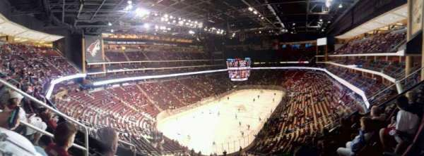Gila River Arena, vak: 205, rij: E, stoel: 15