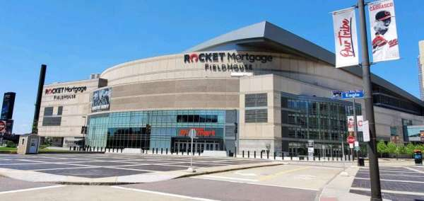 Rocket Mortgage FieldHouse, vak: South Entrance
