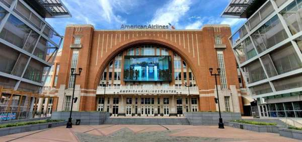 American Airlines Center, vak: South Entrance
