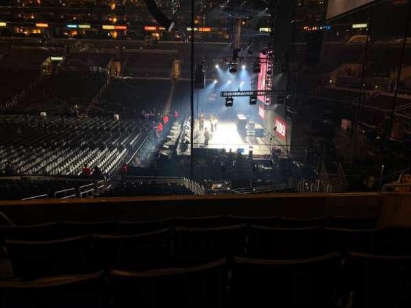 Staples Center, vak: PR3, rij: 5, stoel: 4-5