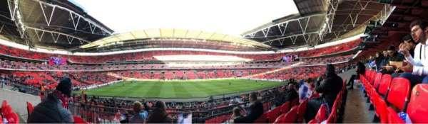 Wembley Stadium, vak: 124, rij: 34, stoel: 32
